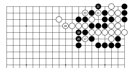 "doremifa四个键曲谱-正解图续b:反倒是黑棋放弃""劫尽棋亡""前来紧气了.结果是劫."